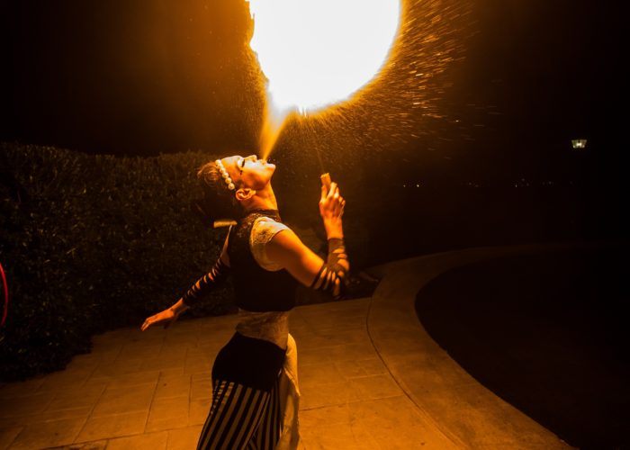 Mesmerie Entertainment Fire Breathing - small