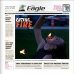 Chadron Eagle front page - small