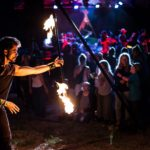 Mesmerie Entertainment LLC - fire staff