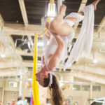 Katie Mesmerie - Aerial Fabric