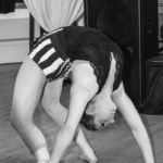 Contortion wedding reception