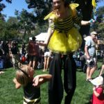Mesmerie Entertainment Stilt Walking - Boulder Bee